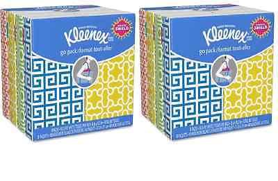 Kleenex Facial Tissue Pocket Travel Size 16 Pouches 10 ea Pouch = 160 Tissues