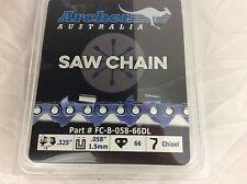 """16"""" Chainsaw Chain Blade Jonsered .325 .058 66DL 2141 2145  2150 2152 CS2150"""