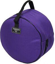 Humes & Berg TX478P 6.5 X 14-Inches Tuxedo Purple Snare Drum Bag