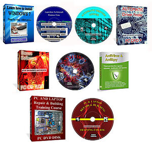 NOTEBOOK-Repair-imparare-reinstallare-Windows-video-di-training-e-corso-4-DVD