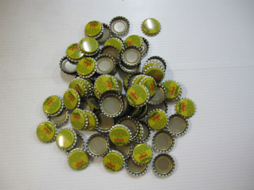 NOS Never Used 750 Mellow Yellow Bottle Caps
