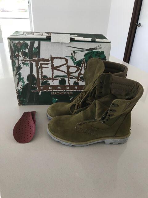 New Redback Terra Combat Boots size 3