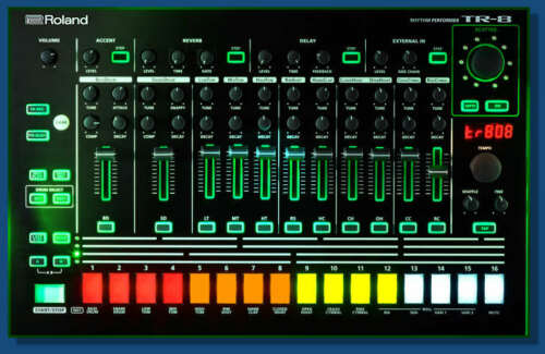808 Aira Library Sample CD Roland TR-8 909