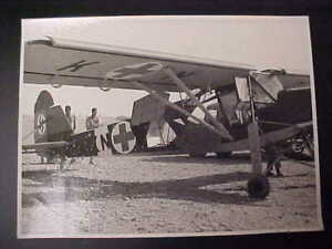 Original-WW2-Photo-of-a-German-034-Storch-034-Airplane-With-Red-Cross-Markings
