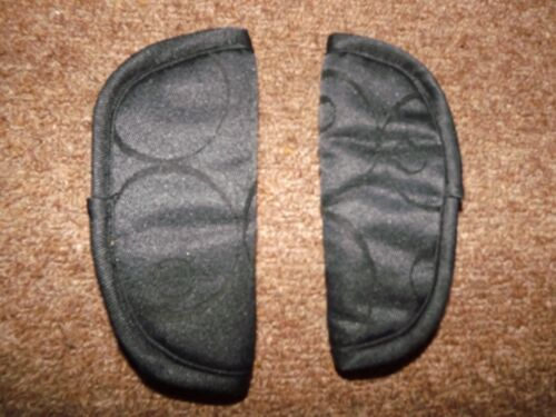 Silver Cross Ventura  Car Seat Shoulder Harness Pads Black