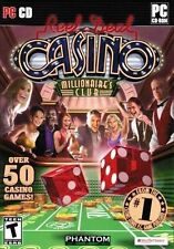 Reel Deal Casino Millionaire's Club PC Games Windows 10 8 7 XP Computer craps