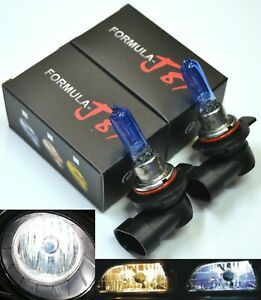 Details about Halogen 9012 HIR2 55W 5000K White Two Bulbs Head Light Dual  Beam Replacement OE