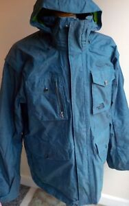 7e80a37de Details about Vintage The North Face Hyvent Recco System Pinstripe Cryptic  Jacket XL