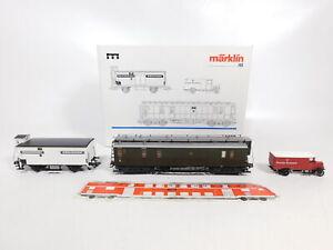 Ce185-1-Marklin-mhi-h0-ac-4329-coches-set-rico-post-DRG-nem-KK-Neuw-embalaje-original