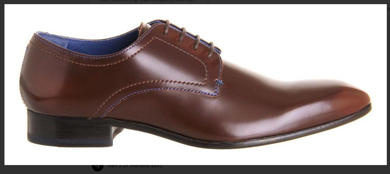 TED Baker Uomo Marrone Scarpe billay 2 Plain Toe Scarpe Marrone Derby SHINE SZ UK11/EU45 RRP - faec6c