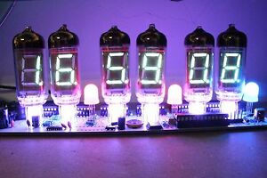 IV-11-VFD-CLOCK-WITH-REMOTE-AND-ALARM-with-6pcs-IV11-vfd-tubes-nixie-era-DIY-KIT