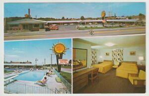 Unused-Postcard-Cardinal-Motel-and-Dining-Room-Elizabethtown-Kentucky-KY