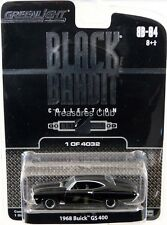GreenLight 1968 Buick GS 400 Black Bandit #27640 New in Package 2009 8+ 1:64