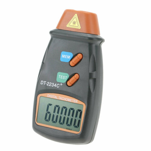 D 2234C Non-contact Handheld Digital Photo Tachometer RPM Tester