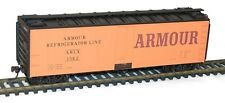 H0 Accurail - 8322 - 40' Steel Refrigerator Cars with Hinged Door- Ar  Model Kit