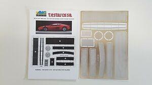 Ferrari Testarossa Pocher AMG Detail Set 2005 - 001 in 1/8 scale