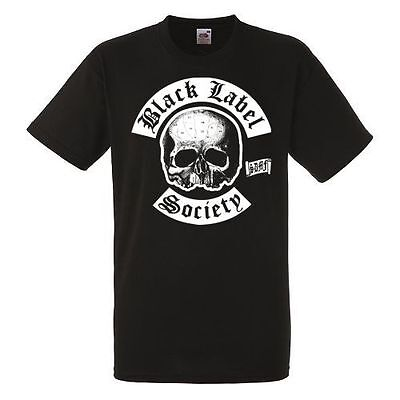 BLACK LABEL SOCIETY BAND 2 Black New T-shirt Rock T-shirt Rock Band Shirt