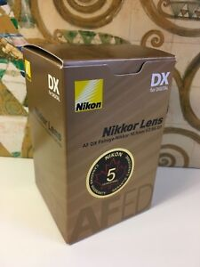 New-Nikkor-Lens-NIKON-AF-DX-10-5MM-F2-8G-ED-FISHEYE-Lens-with-warranty-2148