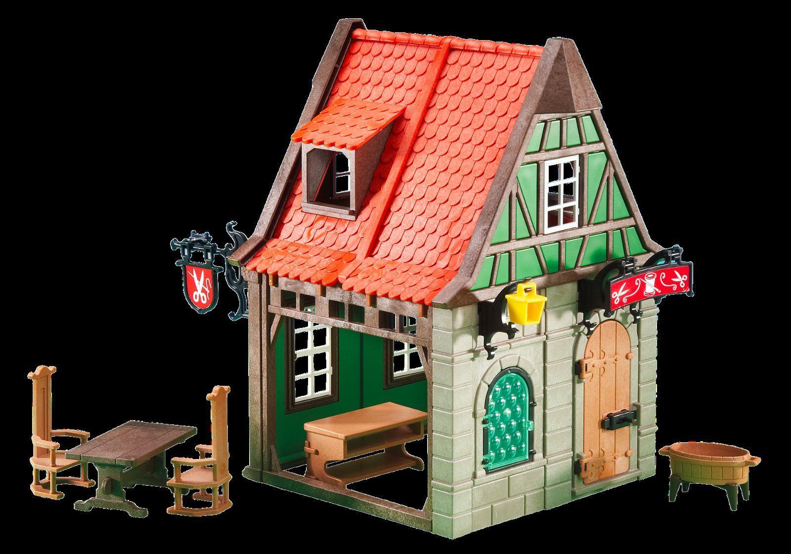 PLAYMOBIL 6463 Sastrería Boutique Maison Tailleur Sarto Casa Medieval