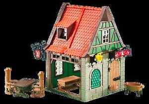 Playmobil 6463 Sastrería Boutique Maison Tailleur Sarto Casa Medieval 2