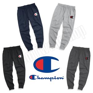 Champion Authentic Men's Powerblend Fleece Jogger, Big C Logo GF22H Y06591
