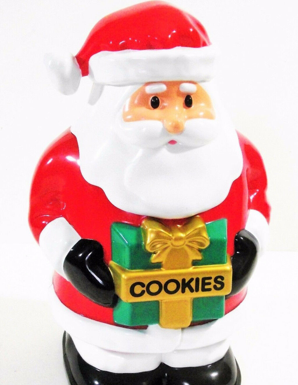 Christmas Talking Cookie Jar - 25cm Biscuits Sound Xmas Holidays 10'' Tall