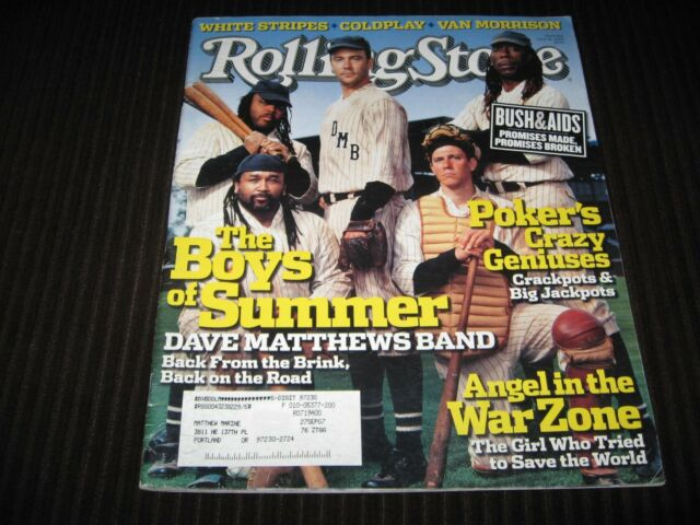ROLLING STONE #976 JUNE 16, 2005 - DAVE MATTHEWS BAND THE BOYS OF SUMMER