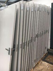 50-x-Solid-Core-Doors-Painted-Grey-includes-Commercial-Door-Hardware-RRP-42-500
