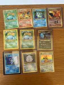 Pokemon-Base-Set-Holo-Card-Lot-Charizard-Blastoise-Cards-Mixed-Lot