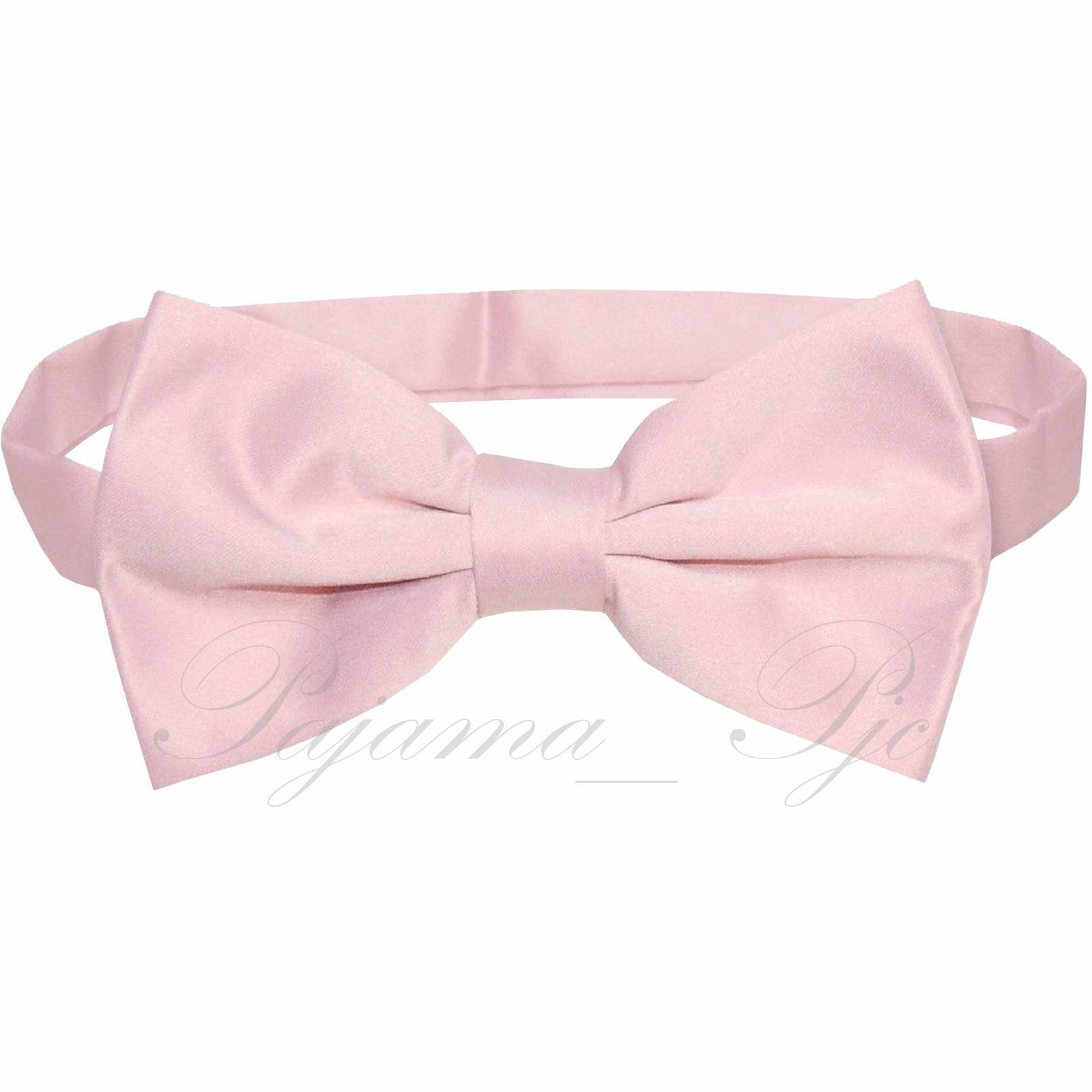 Classic New Pink Mens vorgebunden Tie Bow Tie Wedding Party