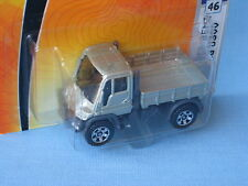 Matchbox Mercedes-Benz Unimog U300 Silver Body Farming Farm Construction