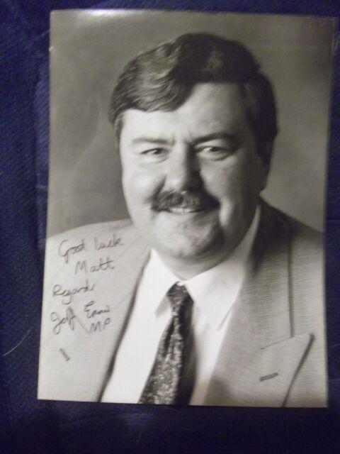 Former Labour MP JEFFREY ENNIS hand signed photo
