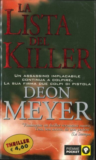 LA LISTA DEL KILLER - DEON MAYER