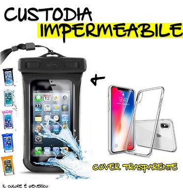 Custodia Telefono Impermeabile Custodia IPhone 5C Gomma Siliconica