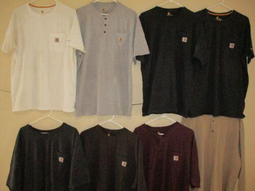 Men's Wholesale Lot 86 Carhartt Work T-shirts S-3X