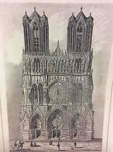 Reims-Cathedral-First-half-Xixth-Marl-Champagne-Ardenne