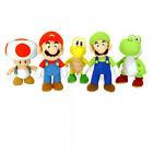 Super Mario Toadstool Soft Toy Plush 22cm Official Nintendo