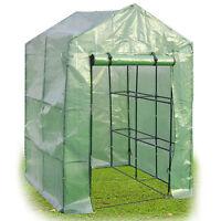 8 Shelves Greenhouse Portable Mini Green Grow Planting Plants House Tent Garden