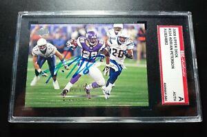 2008 Adrian Peterson SGC Cert Signed Autograph Vikings Rookie Card Future HOFer