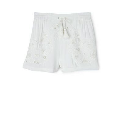 NEW Bardot Junior Fleur Short White