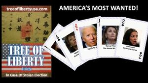 America-039-s-Most-Wanted-Novelty-Playing-Cards-Use-In-Case-Of-Stolen-Election
