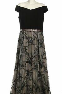 VERA MONT Abendkleid schwarz-hellgrau Elegant Damen Gr. DE ...