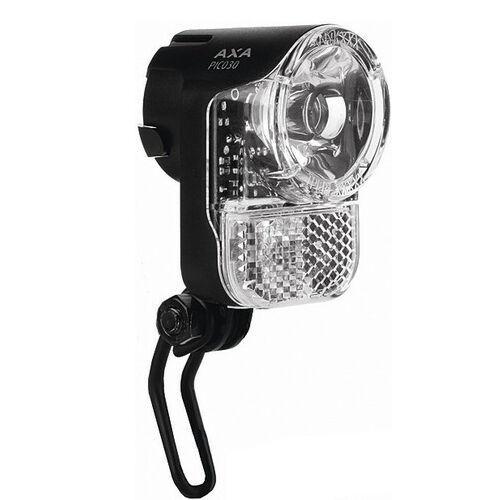 30 Lux Fahrrad LED Scheinwerfer AXA Pico Standlicht für KTM GIANT Stevens u.a.