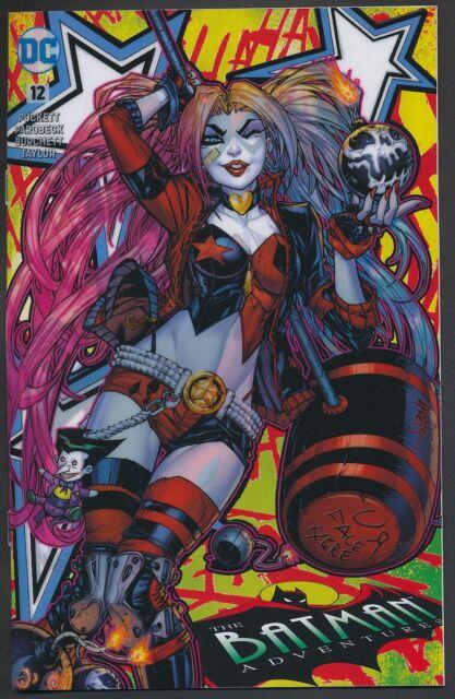 THE BATMAN ADVENTURES #12 FAN EXPO DALLAS ACETATE Jonboy VARIANT Harley Quinn