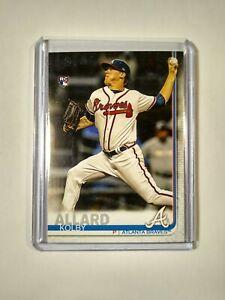 2019 Kolby Allard RC Topps Series 1 #38 Atlanta Braves Rookie Card