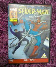 Original Spider-Man Marvel Season 1 - Volume 1 Animated Spiderman Episodes 1-6