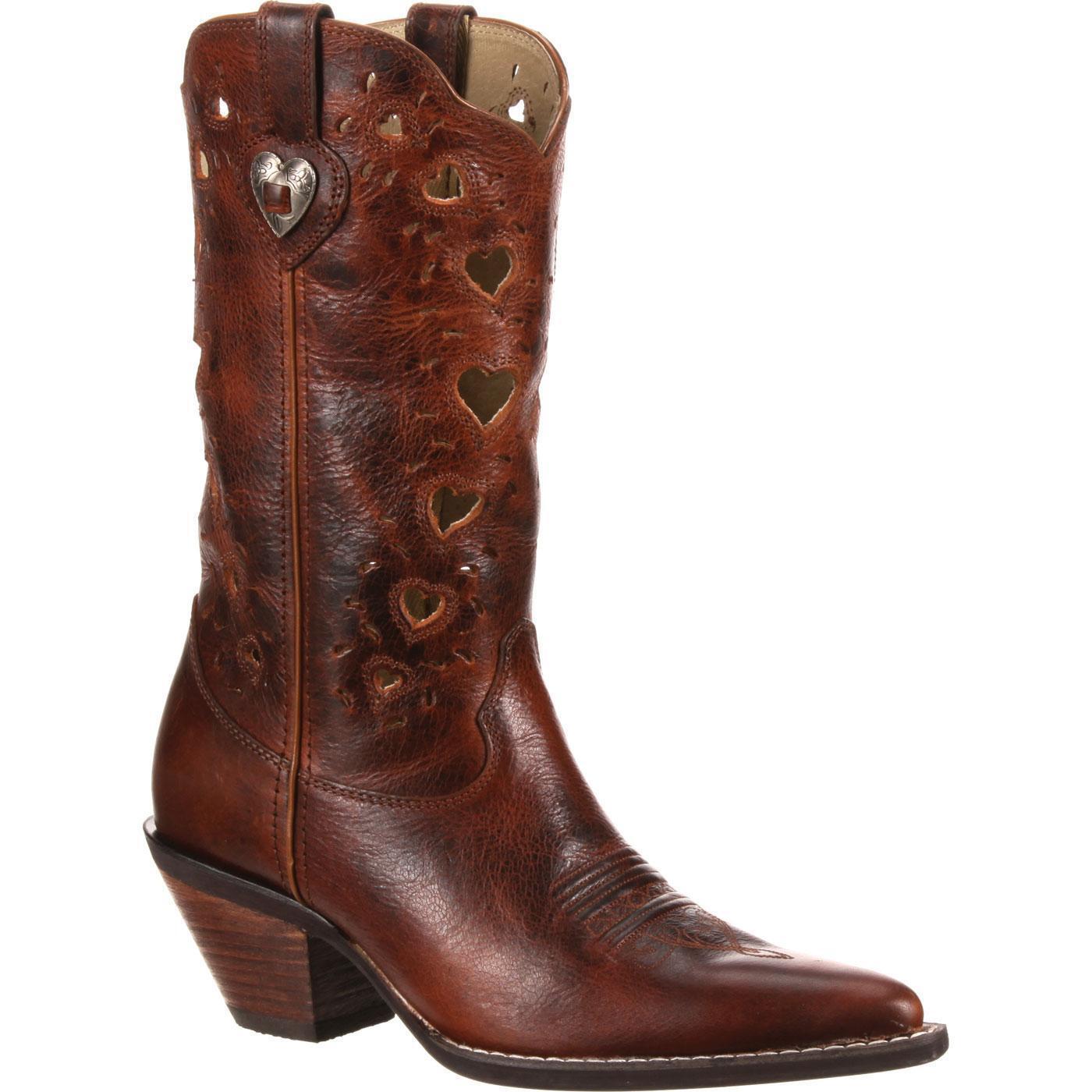 Sconto del 70% a buon mercato Crush by Durango Donna  Heartfelt Western Western Western Boost, Saddle Marrone  molto popolare