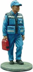 Del Prado 1/32 Figure Fireman Health Service dress fireman Portugal 2005 BOM123
