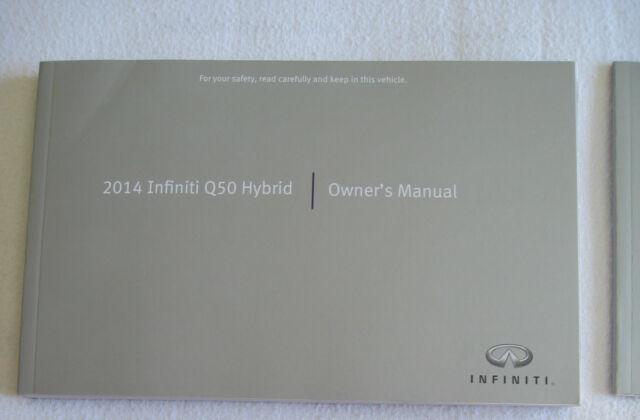 q50 manual 2014