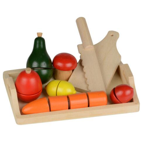 Bois Planche à découper schneideset légumes fruits épicerie jeu cuisine aliments